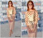 Brittany Snow In Monique Lhuillier  @ FOX's Summer TCA 2019 All-Star Party