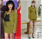 "Constance Wu In Alessandra Rich @ ""Hustlers"" Photocall In Beverly Hills"