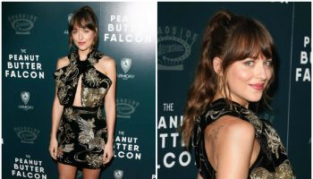 dakota-johnson-in-saint-laurent-the peanut butter-falcon-la-premiere