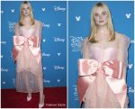 Elle Fanning  In Kimhekim @ D23 Disney+ Event in Anaheim