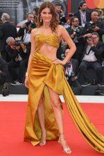 Isabeli Fontana In Alberta Ferretti @ 'La Vérité' Venice Film Festival Premiere