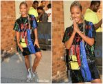 Jada Pinkett Smith In Louis Vuitton @  The Daily Show with Trevor Noah