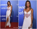 Joan Smalls In David Koma @ 2019 Unicef Summer Gala Presented By Luisaviaroma – Dinner