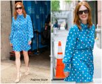 Julianne Moore  In Marc Jacobs @ Kelly and Ryan Show