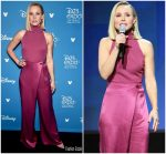 Kristen Bell In  Cushnie @  D23 Disney+ Event in Anaheim
