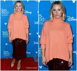 Kristen Bell  In Sally LaPointe @    Disney D23 Expo in Anaheim