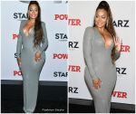 La La Anthony  In Alexandre Vauthier dress @  'Power' New York Premiere