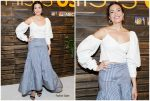 """Mandy Moore In Rosie Assoulin  @ """" This Is Us """" Pancakes With The Pearsons Event"""