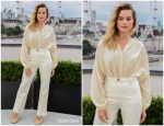 "Margot Robbie In Doen @ ""Once Upon A Time In Hollywood"" London Photocall"
