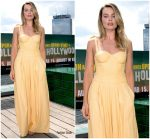 Margot Robbie In Rosie Assoulin  @  'Once Upon a Time in Hollywood' Berlin Photocall