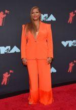 Queen Latifah  In  Sergio Hudson @  2019 MTV Video Music Awards in Newark