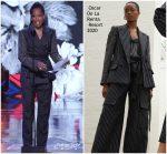 Regina King  In Oscar De La Renta Suit @ Black Girls Rock 2019