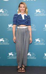 "Scarlett Johansson In Michael Kors @ ""Marriage Story"" Photocall – The 76th Venice Film Festival"