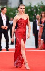 Scarlett Johansson In Celine @ 'Marriage Story' Venice Film Festival Premiere