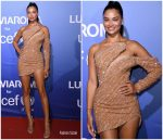 Shanina Shaik In Nicolas Jebran @ 2019 Unicef Summer Gala Presented By Luisaviaroma – Dinner