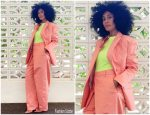 Tracee Ellis Ross In Fenty  Suit – Instagram  Pic