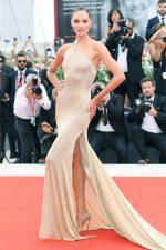 Candice Swanepoel In Etro @ 'La Vérité' Venice Film Festival Premiere