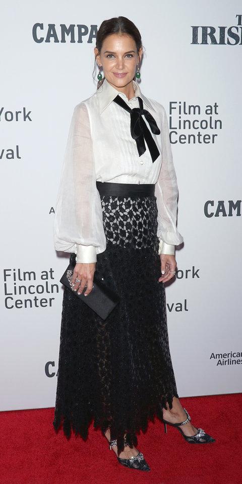 katie-holmes-in-marc-jacobs-@-'the-irishman'-new-york-film-festival-premiere