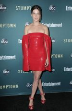 Cobie Smulders  In Alex Perry @  The 'Stumptown' LA Premiere