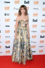 Maya Hawke In Christian Dior @ 'Human Capital' Toronto Film Festival Premiere