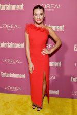 Lea Michele  In David Koma @ EW  &  LOreal Paris USA  2019 Pre-Emmy Party