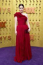 Emily Hampshire  In J.Mendel  @ 2019 Emmy Awards