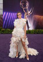 Olivia Culpo  In Maticevski @ 2019  Emmy Awards