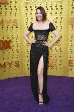 Leslie Bibb  In Georges Hobeika @ 2019 Emmy Awards