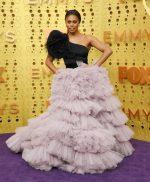 Laverne Cox  In Monsoori @ 2019  Emmy Awards