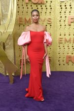 Susan Kelechi Watson In Badgley Mischka  @ 2019  Emmy Awards
