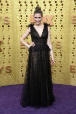 Sarah Levy  In Tadashi Shoji @  2019 Primetime Emmy Awards