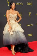 Nicole Scherzinger In Pamella Roland @ 2019 Creative Arts Emmy Awards