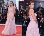 Adele Exarchopoulos In Christian Dior Haute Couture @ 'Joker' Venice Film Festival Premiere