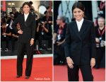 "Alessandra Mastronardi In Brioni Suit  @  J'Accuse"" ""An Officer and a Spy""  Venice Film Festival Premiere"