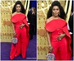 Angela Bassett In Antonio Grimaldi Couture @ 2019 Emmy Awards