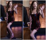 Anna Kendrick In Halpern    @ Late Night With Seth Meyers