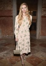 Brit Marling  In Miu Miu @ Miu Miu Women's Tales Dinner at 76th Venice Film Festival