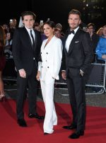 The Beckhams In Tom Ford & Victoria Beckham @ GQ Men Of The Year Awards 2019
