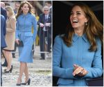 Catherine, Duchess Of Cambridge In   Alexander McQueen @ The Naming Ceremony For The RSS Sir David Attenborough