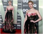 Elle Fanning In Dolce & Gabbana @ GQ Men Of The Year Awards 2019