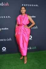 Tracee Ellis Ross  In Christopher John Rogers @  POPSUGAR x ABC 'Embrace Your Ish' Event