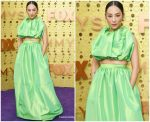 Greta Lee  In Christopher John Rogers  @ 2019 Emmy Awards