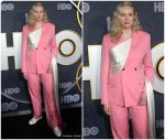 Gwendoline Christie  In Dior Men  @ HBO Emmy Awards After Party