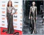Isabelle Huppert In Christian Dior Haute Couture @ 'Frankie' Toronto Film Festival Premiere