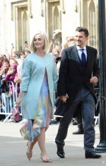 Katy Perry and Orlando Bloom @ Wedding of Ellie Goulding and Caspar Jopling in London