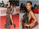 Keke Palmer In Roberto Cavalli @ Hustlers Movie Toronto International Film Festival Premiere