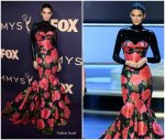 Kendall Jenner In Richard Quinn  @ 2019 Emmy Awards