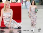 Kirsten Dunst – Honored With Star on The Hollywood Walk of Fame in Hollywood