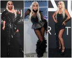 Lady Gaga Celebrates Launch of Haus Laboratories Cosmetics Line Wearing Three Outfits