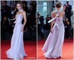 "Lily Rose Depp In Chanel Couture @  ""The King""  Venice Film Festival Premiere"